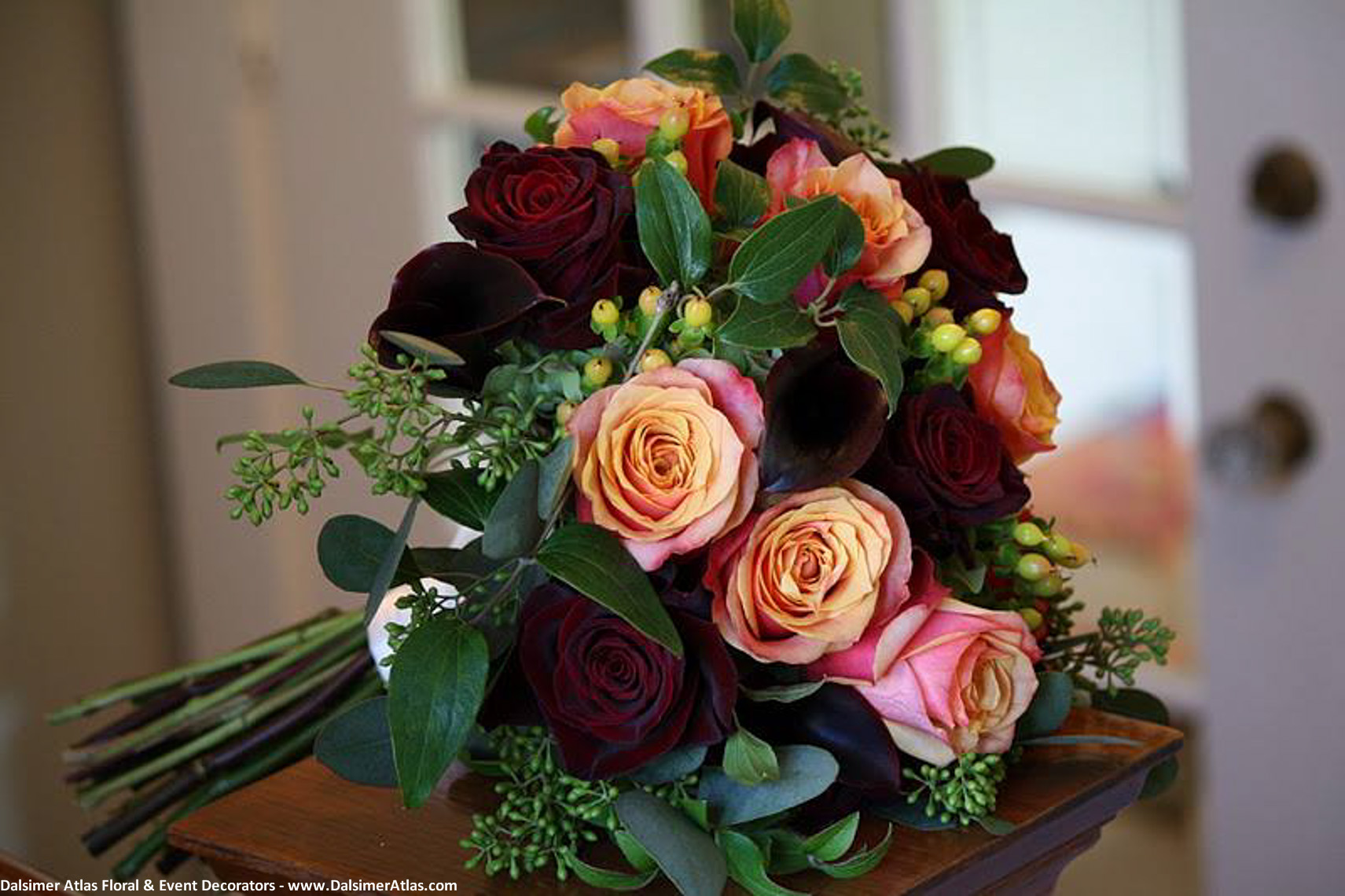Bridal Bouquet Autumn Colors