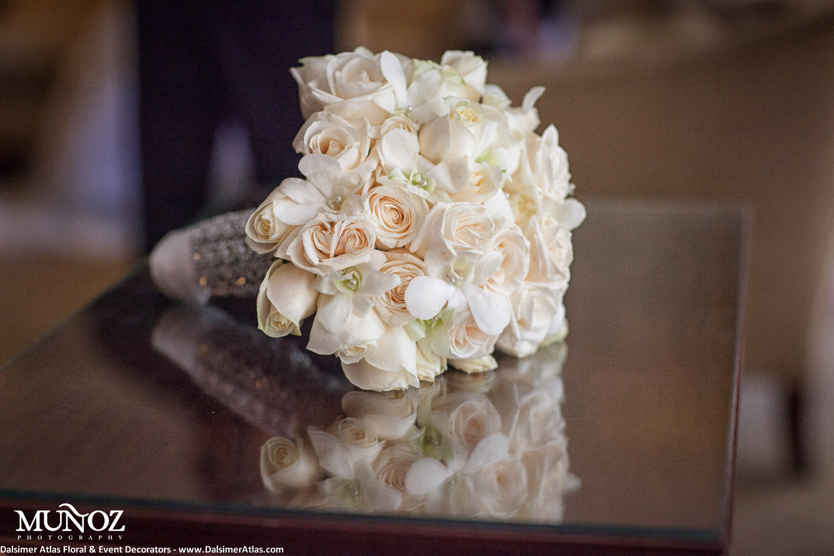 Bridal Bouquet Roses Ivory