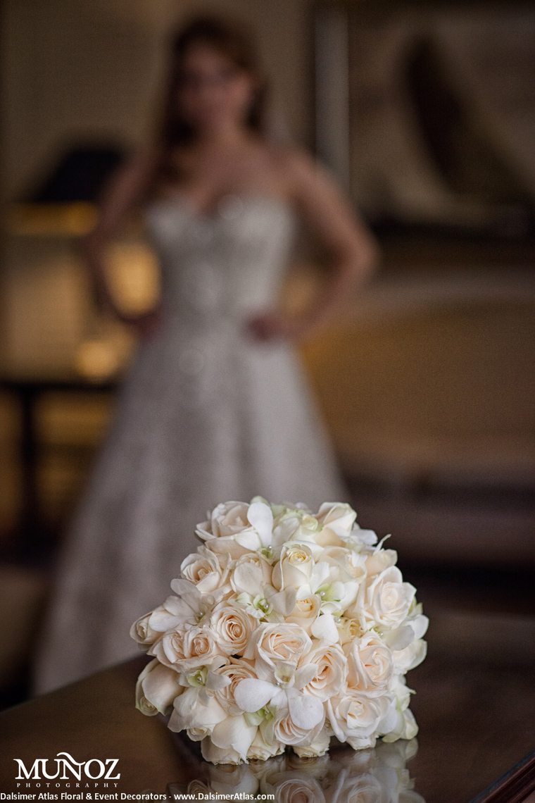 Bridal Bouquets Roses Ivory