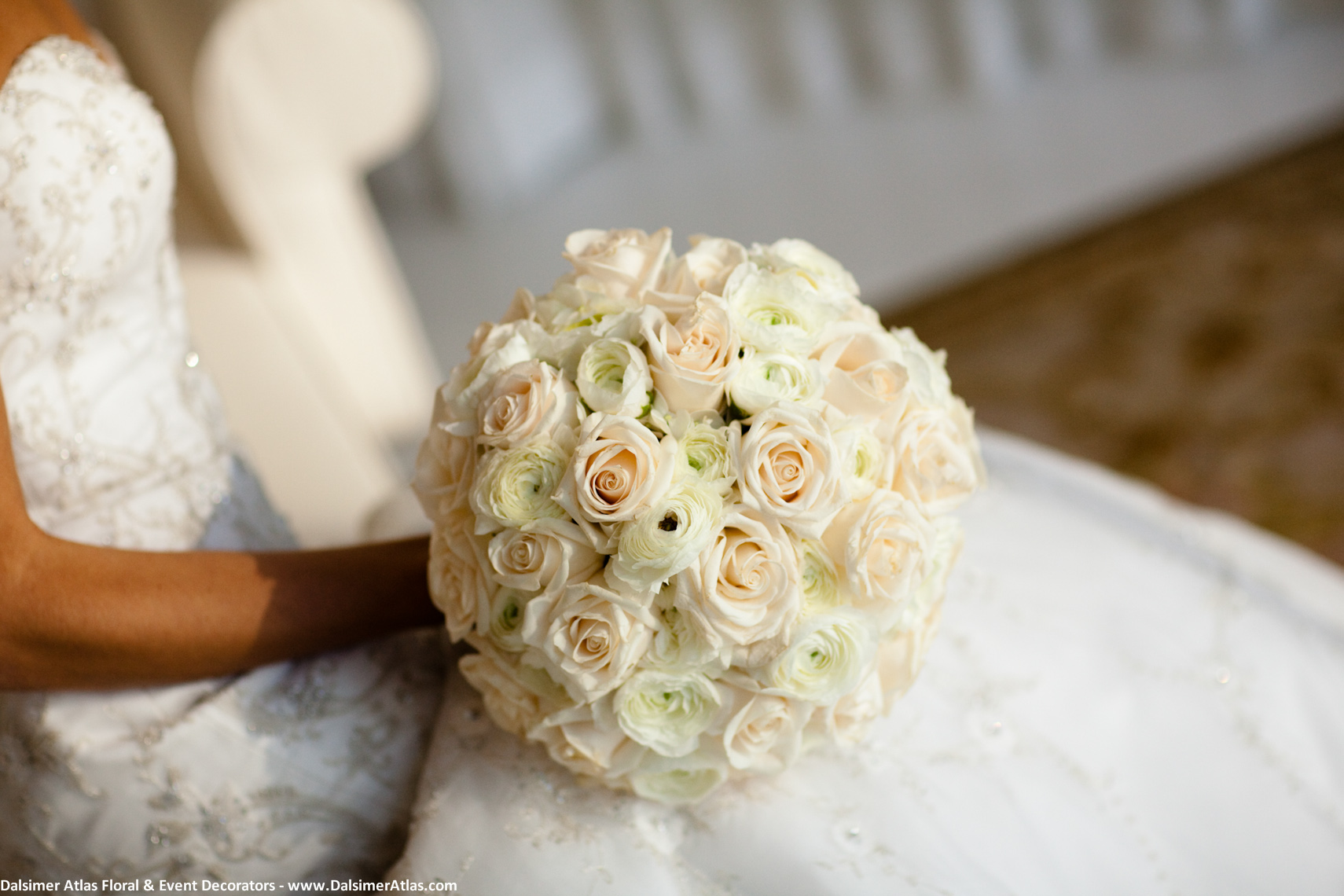 Bridal Bouquet White Cream