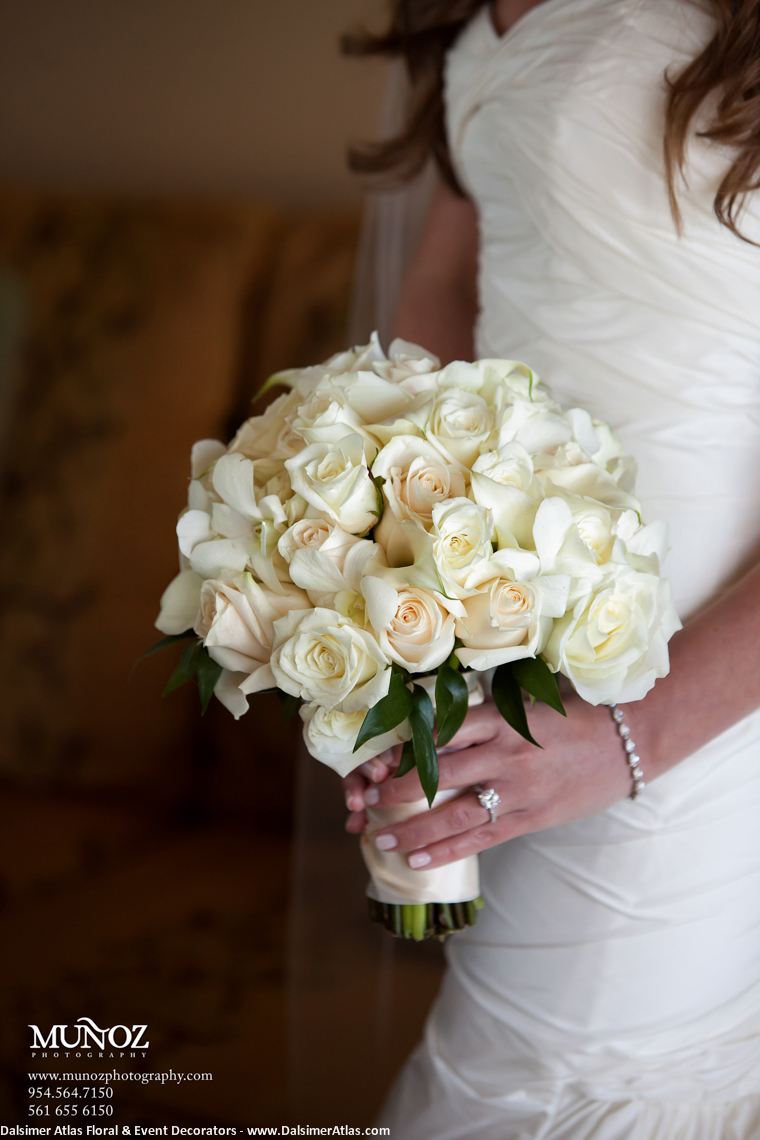 Bridal Bouquet Cream Roses