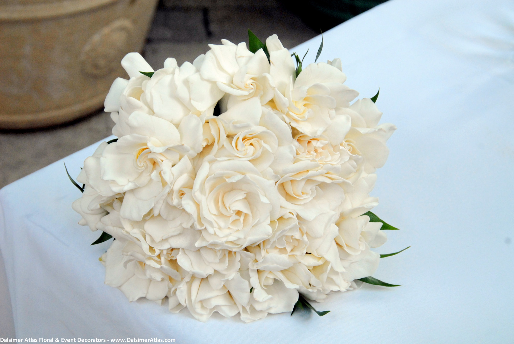 Bridal Bouquet White Roses