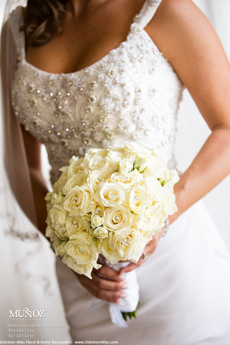 Bridal Bouquet Ivory Roses