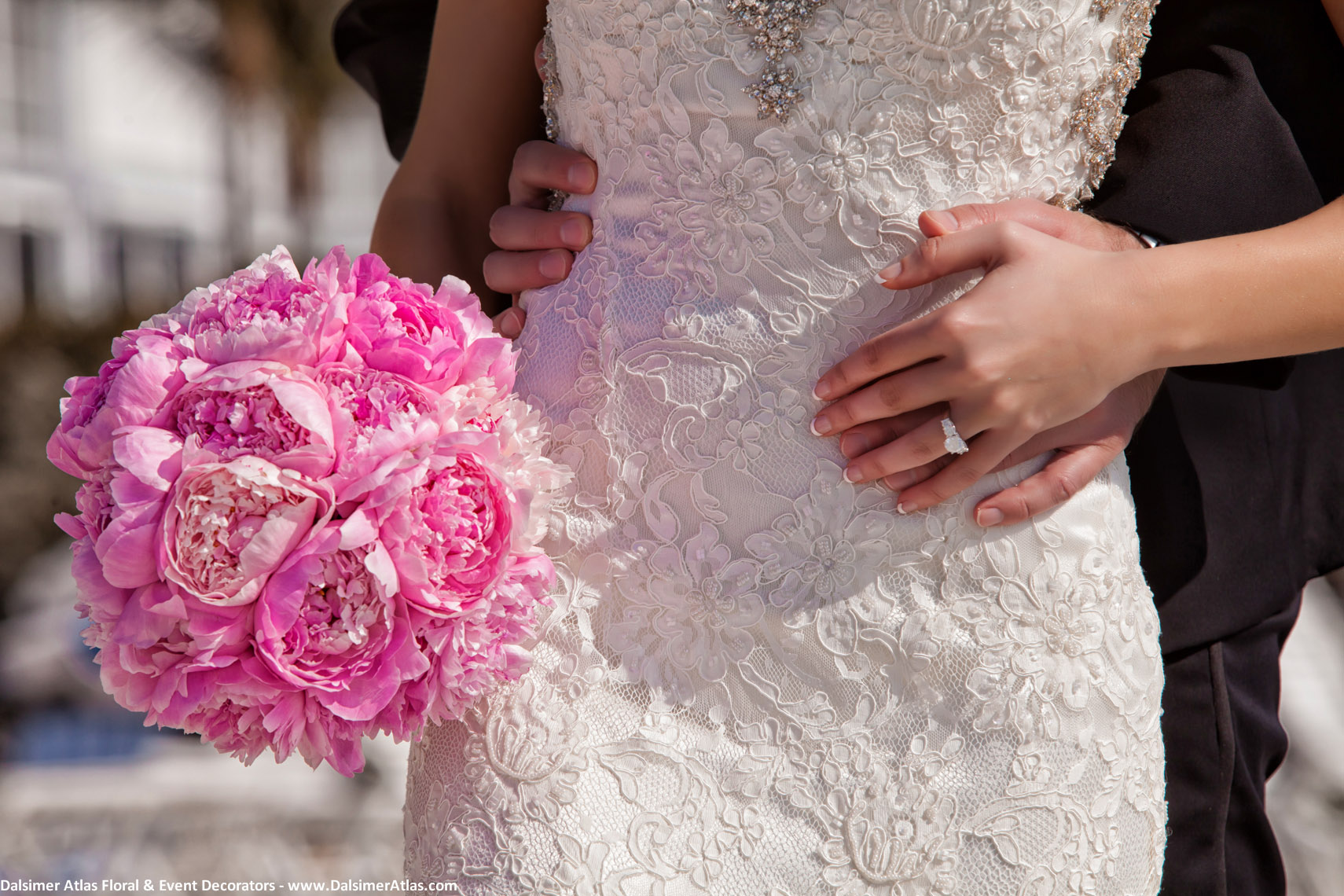 Bridal Bouquet All Pink Peonies