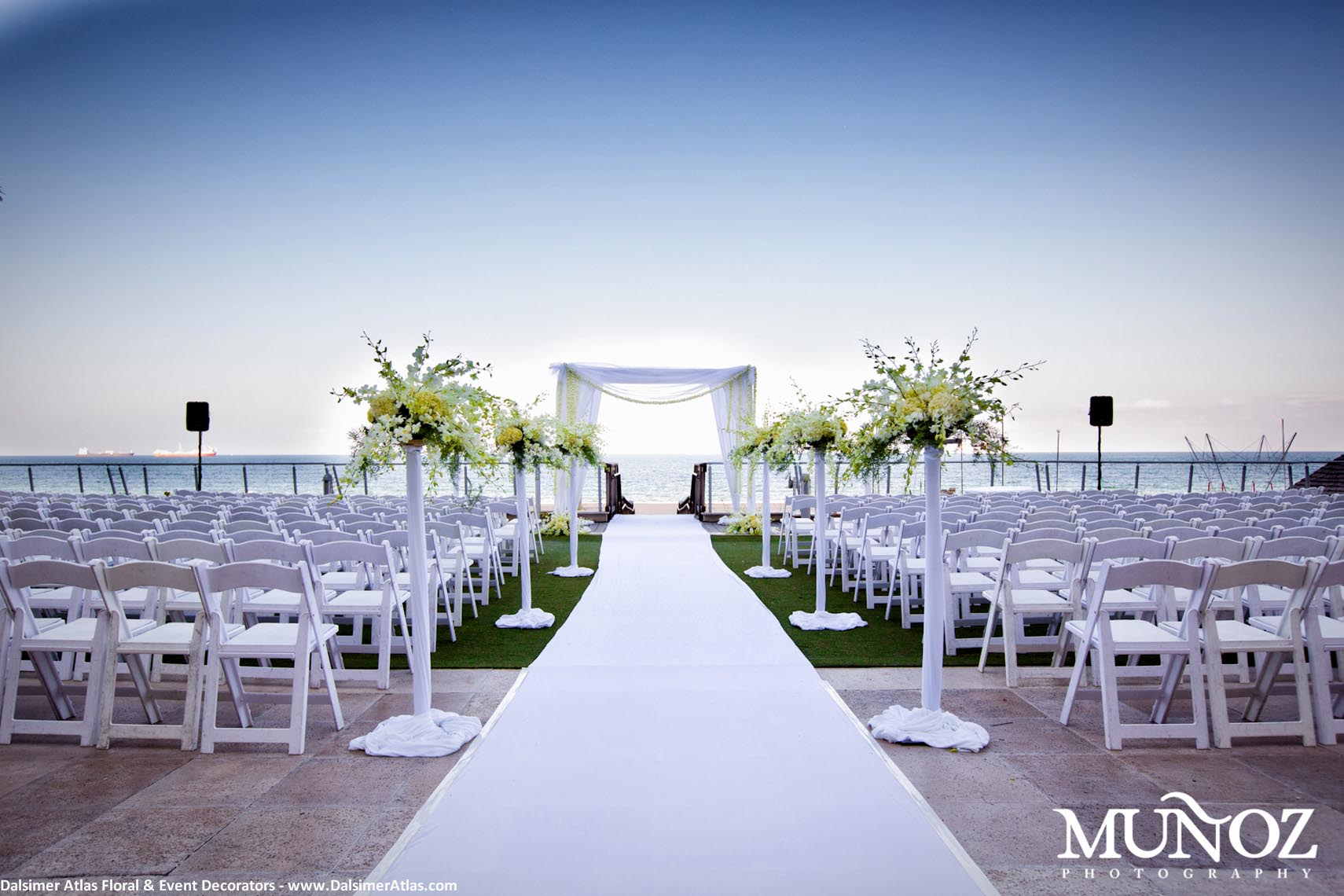 Fort Lauderdale Marriott Harbor Beach Florida 30 Wedding Flowers