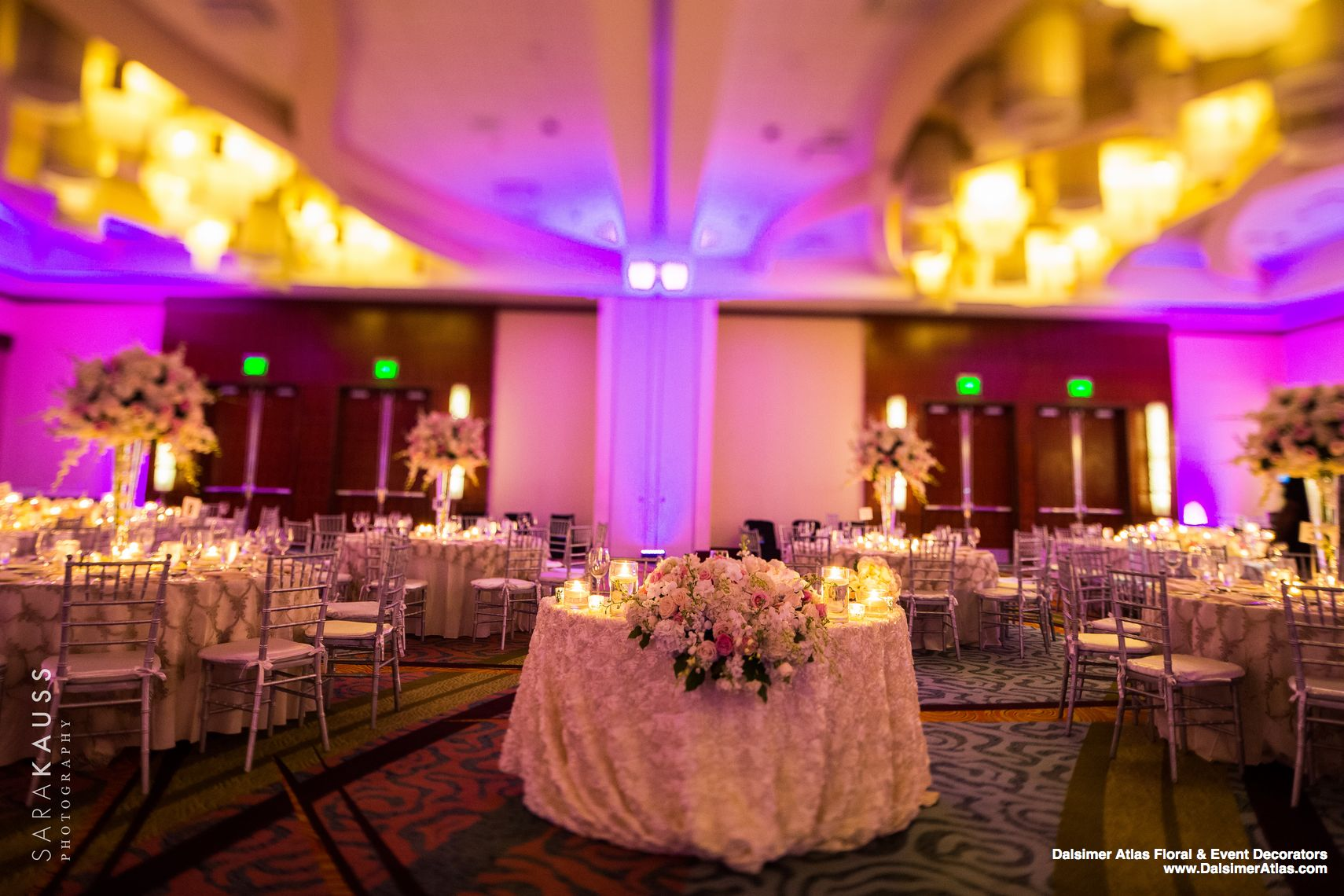 Wedding Florist Flowers Decorations Wedding Fort Lauderdale Marriott