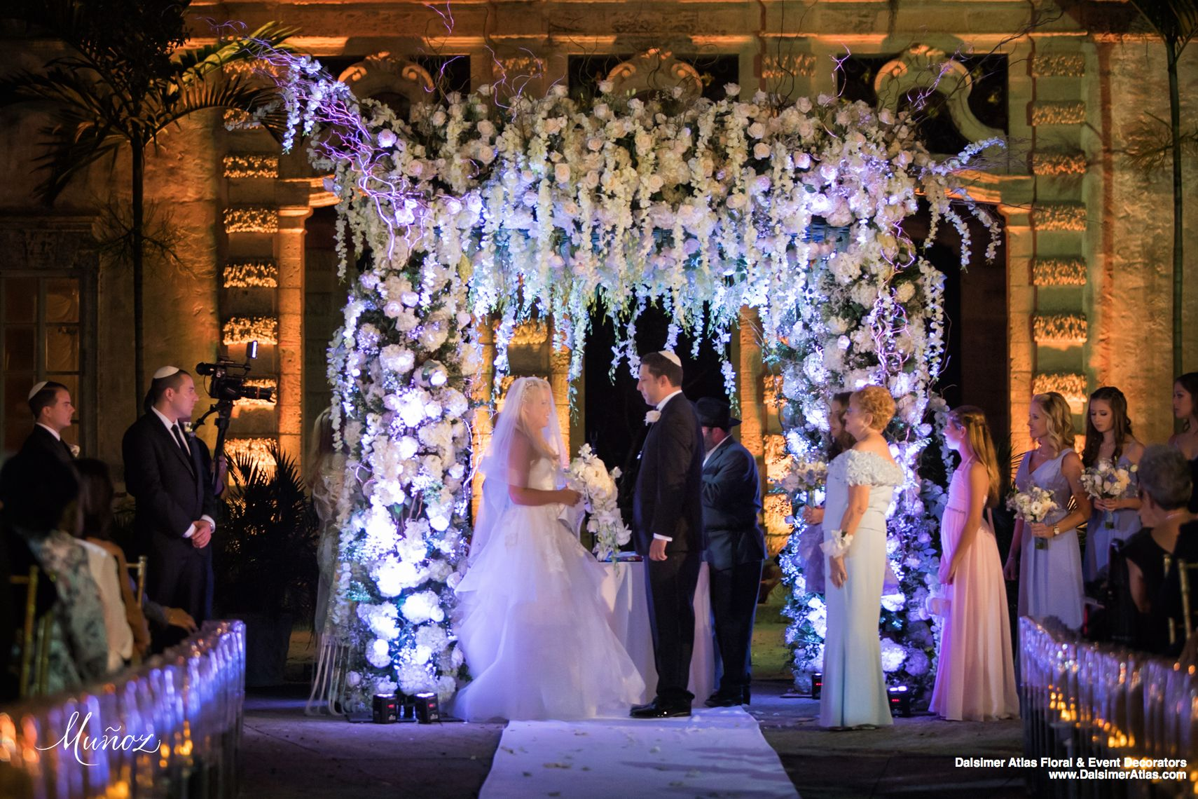 Wedding Florists Flowers Decorations Vizcaya Museum And Gardens Miami Florida Dalsimer Atlas 2